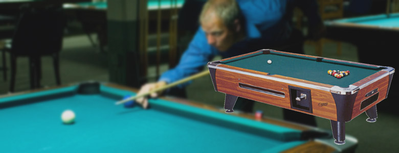 Pool Tables Pioneer Vending - Tournament choice pool table